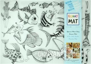 Funny Mat 1007 Balık Sürüsü