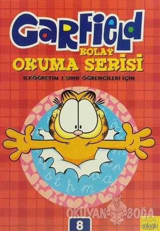 Garfield Kolay Okuma - Yazma Seti (12 Kitap Takım)