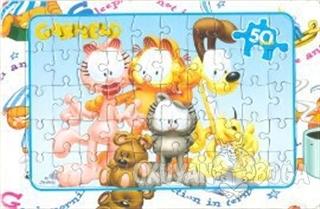 Garfield Puzzle Aile - 50 Parça