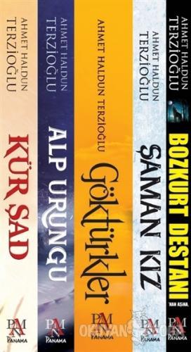 Göktürk Tarihi Seti (5 Kitap Takım) - Ahmet Haldun Terzioğlu - Panama
