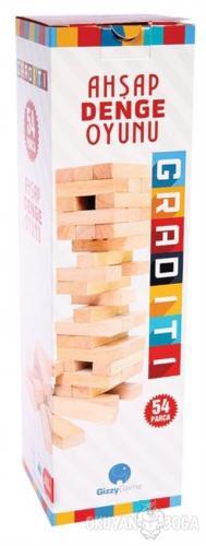 Graditi - Ahşap Denge Oyunu Küçük Boy (24 Adet)