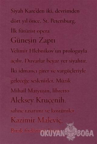 Güneşin Zaptı - Velimir Hlebnikov - Norgunk Yayıncılık