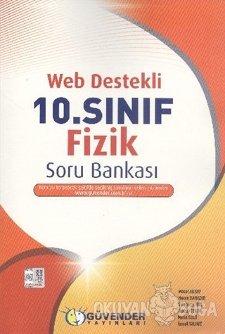 Güvender Web Destekli 10. Sınıf Fizik Soru Bankası - Kolektif - Güvend