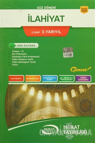 Güz Dönemi İlahiyat 2. Sınıf 3. Yarıyıl - Kolektif - Murat Yayınları