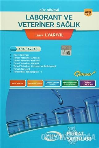 Güz Dönemi Laborant ve Veteriner Sağlık 1. Sınıf 1. Yarıyıl - Kolektif
