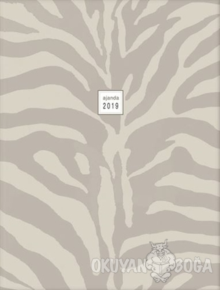 Haftalık Ajanda 2019 Zebra 3024