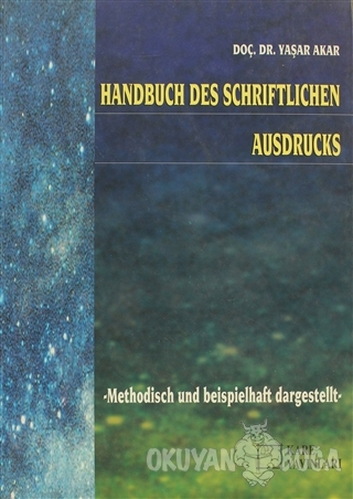 Handbuch Des Schriftlichen Ausdrucks - Yaşar Akar - Kare Yayınları - D