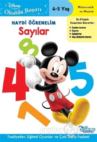 Haydi Öğrenelim - Sayılar 4-5 Yaş - Kolektif - Doğan Egmont Yayıncılık