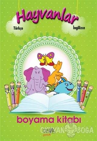 Hayvanlar Boyama Kitabı - Kolektif - Deva Yayıncılık
