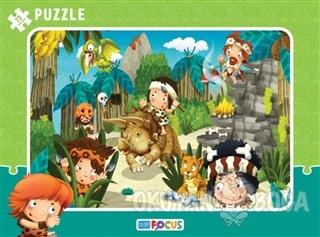 Hayvanlarla Ormanda Çerçeveli Puzzle 72 Parça