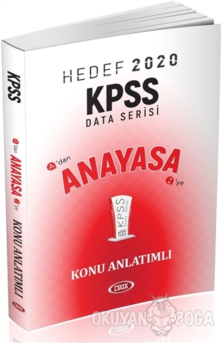Hedef 2020 KPSS Anayasa Konu Anlatımlı - Kolektif - Data Yayınları - K