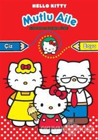 Hello Kitty Mutlu Aile - Çıkartmalı Boyama - Kolektif - Doğan Egmont Y