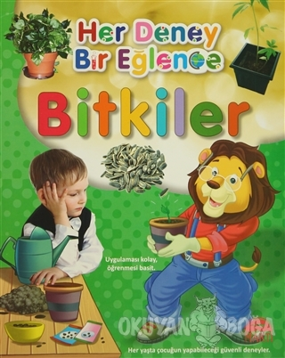 Her Deney Bir Eğlence - Bitkiler - Kolektif - Martı Yayınları