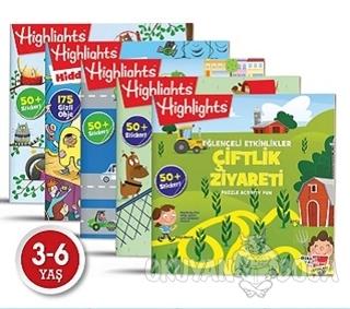 Highlights Sticker Eğlenceli Etkinliklerle Hikayeli Bulmaca 5'li Set