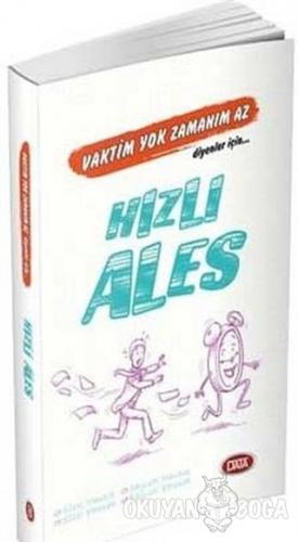 Hızlı ALES - Kolektif - Data Yayınları - KPSS ALES DGS Kitapları