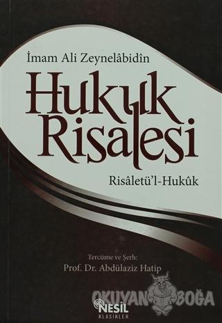 Hukuk Risalesi - İmam Ali Zeynelabidin - Nesil Yayınları