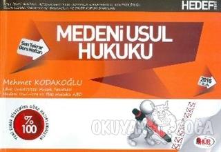 Hür KPSS A Medeni Usul Hukuku Son Tekrar 2015