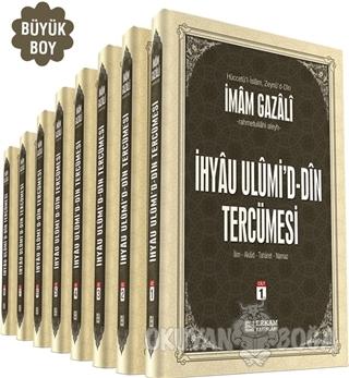 İhya-u Ulumid'd-Din Tercümesi Büyük Boy (8 Cilt Takım) (Ciltli)