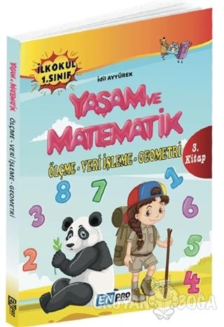 İlkokul 1. Sınıf 3. Kitap: Ölçme - Veri İşleme - Geometri