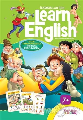 İlkokullar İçin Learn English (Yeşil)