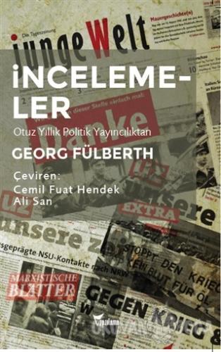 İncelemeler - Georg Fülberth - Yazılama Yayınevi