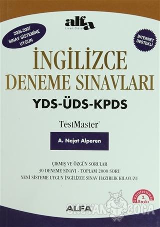 İngilizce Deneme Sınavları - A. Nejat Alperen - Alfa Yayınları