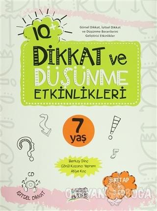 IQ Dikkat ve Düşünme Etkinlikleri 7 Yaş -  (3 Kitap + 3 CD)