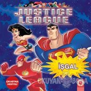 İşgal (Çıkartma Hediyeli) - Justice League - Artemis Yayınları