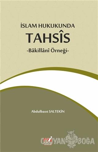 İslam Hukukunda Tahsis