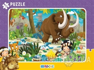 Kamp Çerçeveli Puzzle 72 Parça