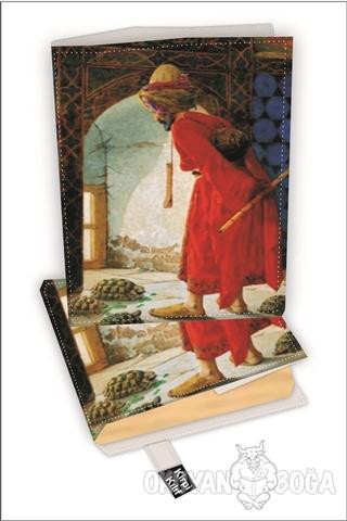 Kaplumbağa Kitap Kılıfı Kod - S-2919004 - - Kirpi Poster - Kitap Kılıf
