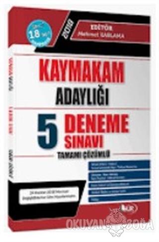 Kaymakam Adaylığı Tamamı Çözümlü 5 Deneme Sınavı Mehmet Kablama