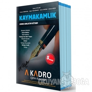 Kaymakamlık Konu Anlatım Kitabı - Kolektif - A Kadro Yayınları