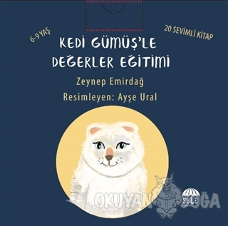 Kedi Gümüş'le Değerler Eğitimi Seti (20 Kitap Takım) - Zeynep Emirdağ