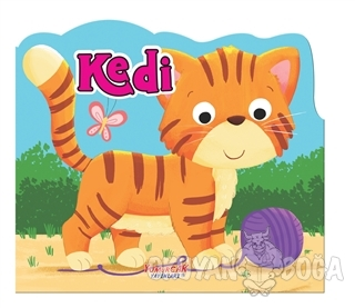 Kedi - Şekilli Kitap - Kolektif - Yumurcak Yayınları