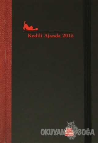Kedili Ajanda 2015 (Ciltli) - Kolektif - Kırmızı Kedi Yayınevi