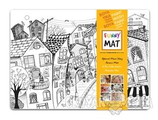 Funny Mat 1003 Kedili Sokak - Kolektif - Akademi Çocuk - Funny Mat