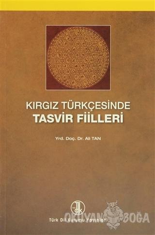 Kırgız Türkçesinde Tasvir Filleri - Ali Tan - Türk Dil Kurumu Yayınlar