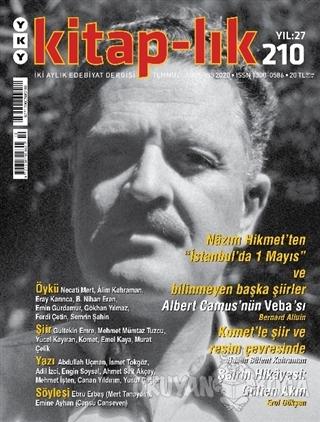 Kitap-lık Dergisi Sayı: 210 Temmuz - Ağustos 2020 - Kolektif - Yapı Kr