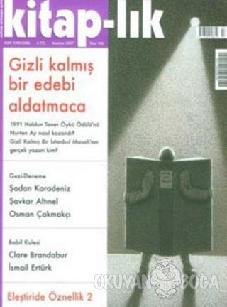 Kitap-lık Sayı: 106 Aylık Edebiyat Dergisi - Kolektif - Yapı Kredi Yay