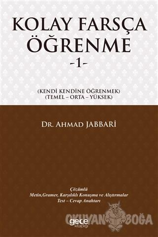 Kolay Farsça Öğrenme 1 - Ahmad Jabbari - Gece Kitaplığı