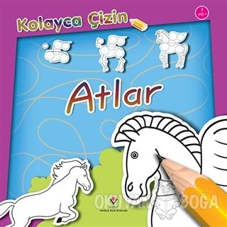 Kolayca Çizin - Atlar - Peter Bull - TÜBİTAK Yayınları