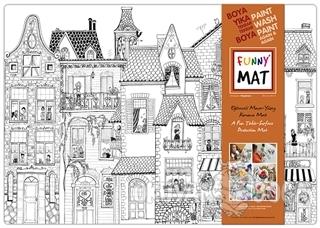 Funny Mat Komşular Büyük Boy - Kolektif - Akademi Çocuk - Funny Mat