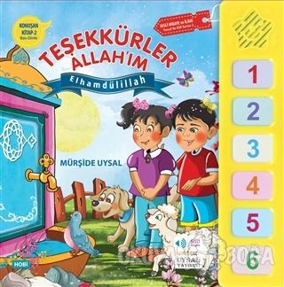 Konuşan Kitap 2 : Teşekkürler Allah'ım - Mürşide Uysal - Uysal Yayınev