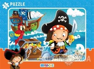 Korsan Çerçeveli Puzzle 72 Parça