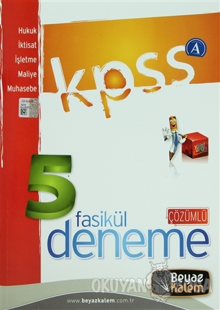 KPSS A 5 Fasikül Deneme Çözümlü - Hukuk / İktisat / İşletme / Maliye /