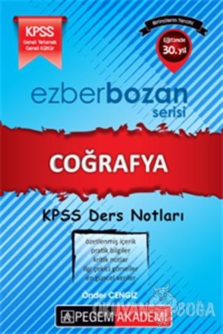 KPSS Ezberbozan Coğrafya Ders Notları