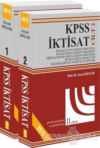 KPSS İktisat 2015 (2 Cilt Takım) - Zeynel Dinler - Ekin Basım Yayın -