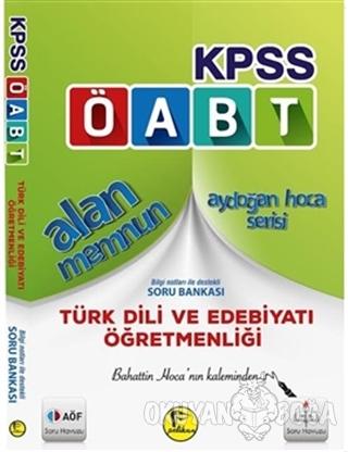 KPSS ÖABT Alan Memnun Türk Dili ve Edebiyatı Öğretmenliği Bilgi Notlar