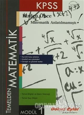 KPSS Temelden Matematik Modül 1 - Kolektif - Dokuz Eylül Yayınları